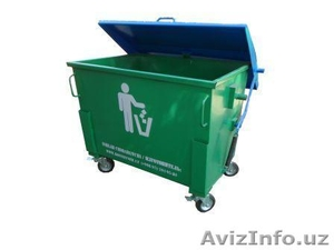 Контейнер для мусора 660 лт  - Изображение #1, Объявление #1556471